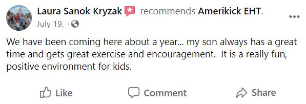 Kids4, Amerikick EHT